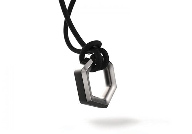 Hex Necklace | Hexagon Necklace | PVOS Necklace
